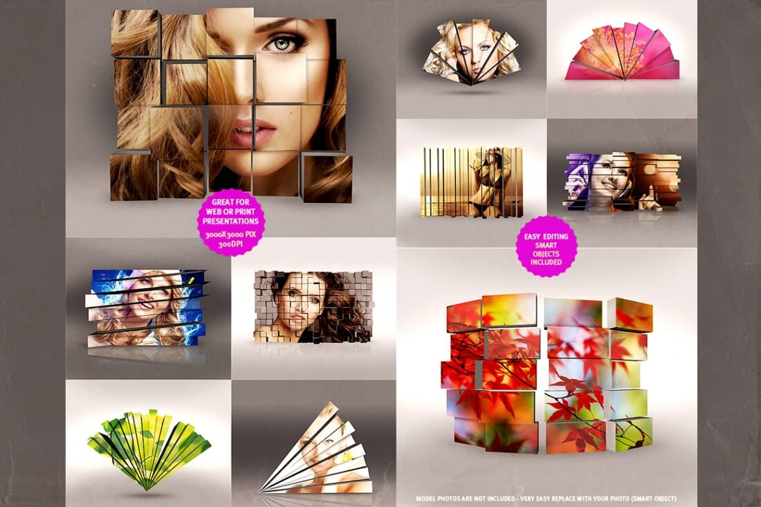 140+ Photoshop Actions Plus 35 Frame Mockups - only $8! - MightyDeals