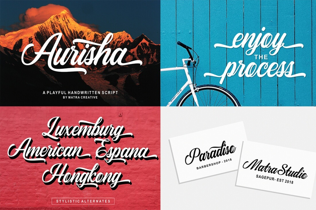 15 Amazing Fonts From Matra Creative - only $9! - MightyDeals