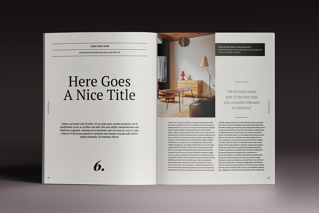 Last chance 15 indesign magazine brochure templates for Brochure design indesign templates