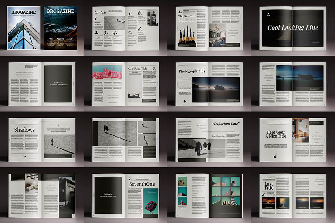 free indesign templates last chance 15 indesign magazine amp brochure templates 21852 | 20