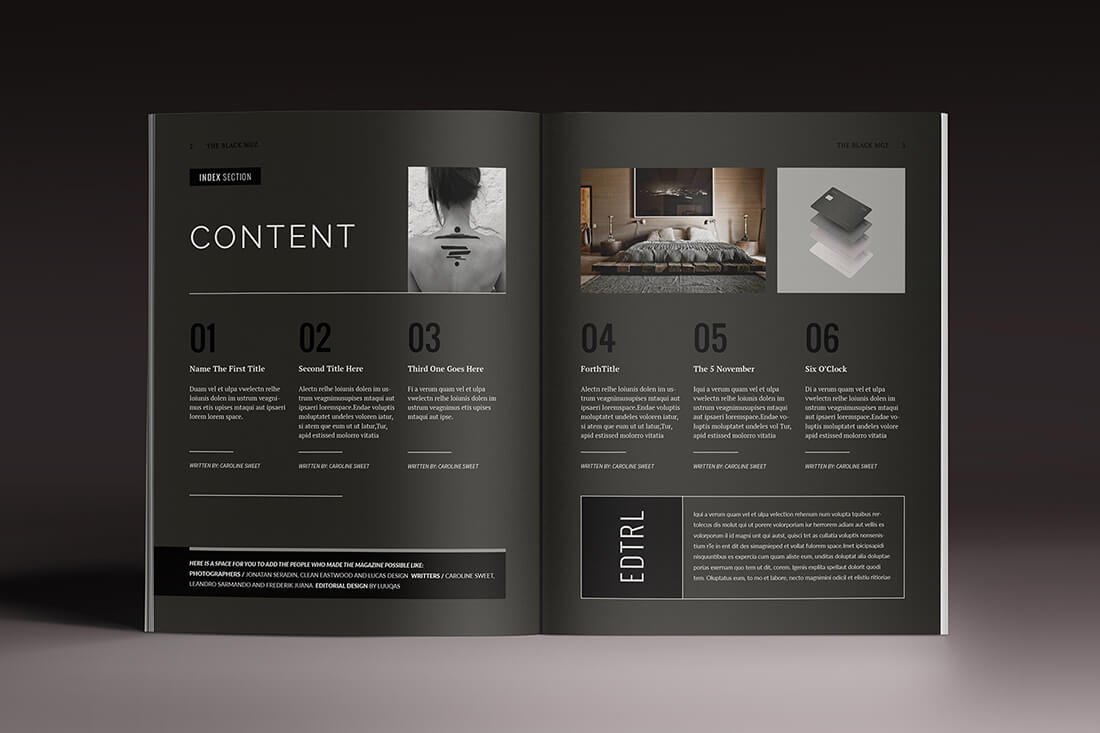 last chance  15 indesign magazine  u0026 brochure templates