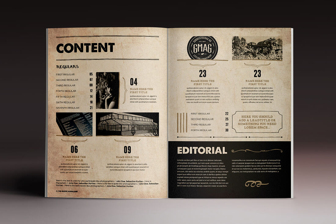 Last chance 15 indesign magazine brochure templates for Brochure indesign template