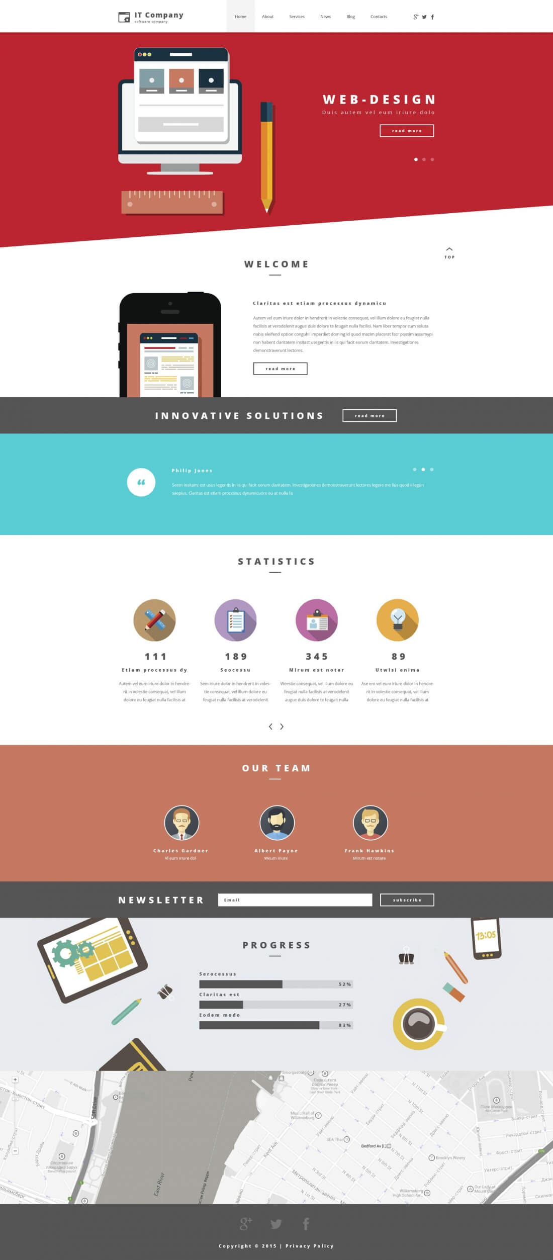 15 Premium Responsive WordPress Themes from Template Monster - only ...