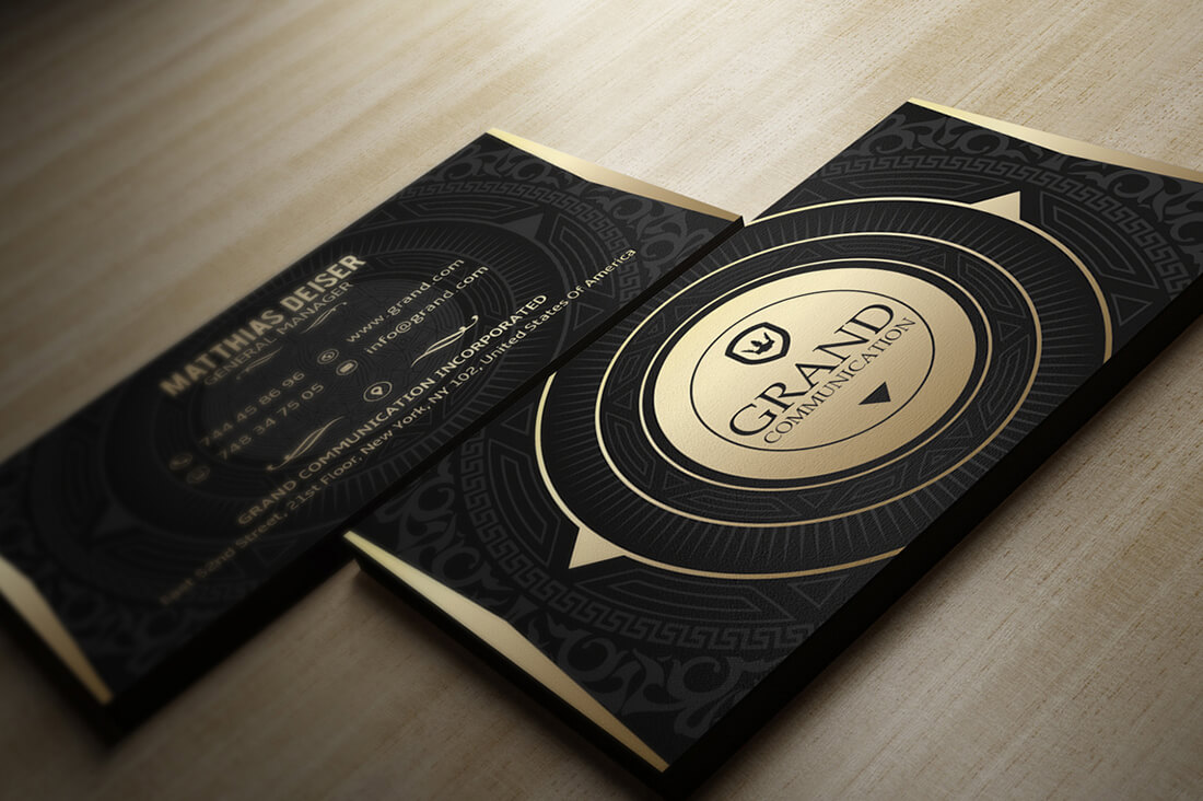 150 massive business cards bundle from marvel media only for Black and gold business cards