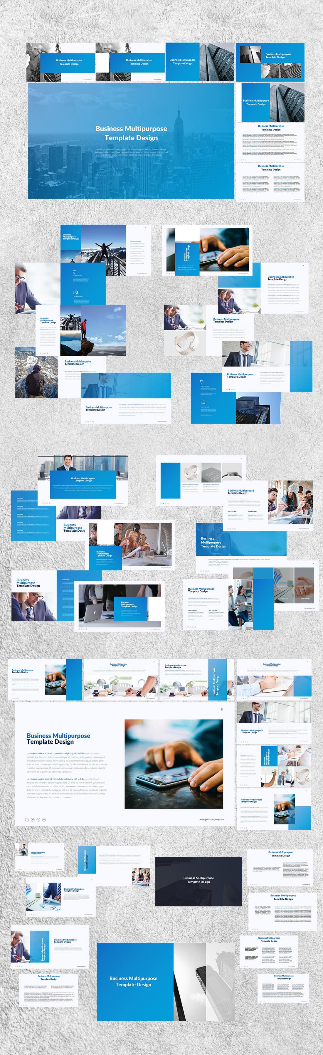 4500 Stunning Powerpoint Presentation Slides - only $9