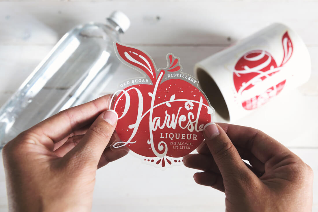 Last chance get 50 custom clear labels from stickermule only 9