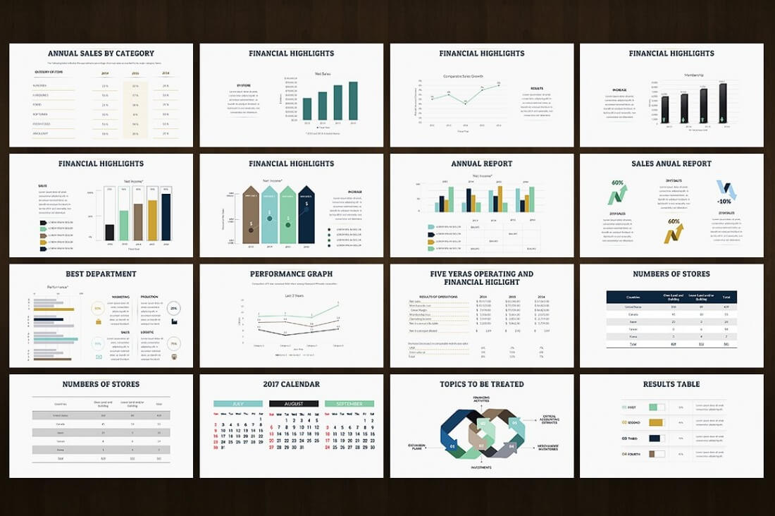 35 Powerpoint   15 Keynote Templates With 1000s Of Charts