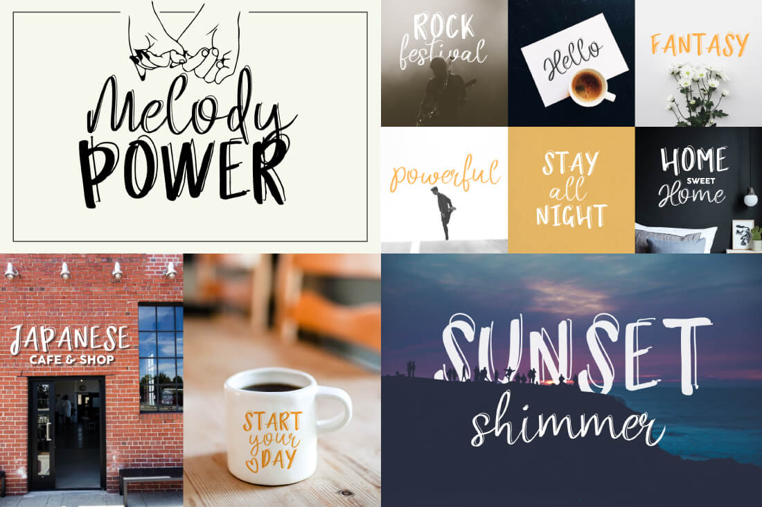 57 Premium Fonts From Mellow Design Lab Only 9 Mightydeals