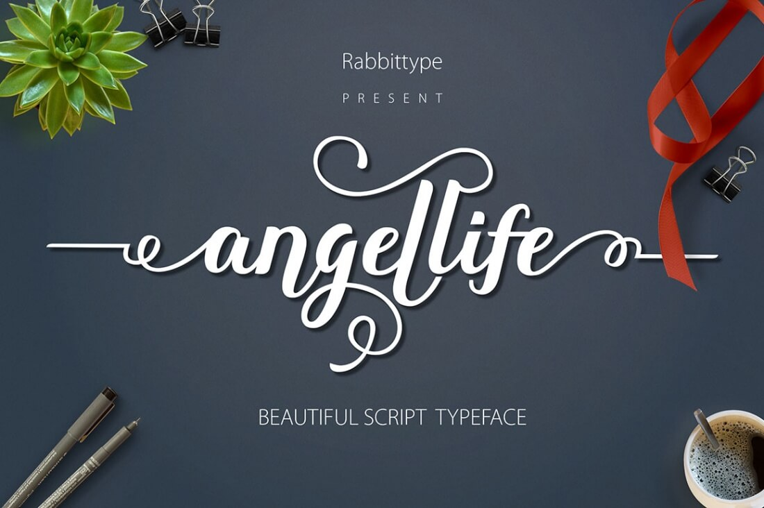 8 Fresh Script Fonts From Rabbittype