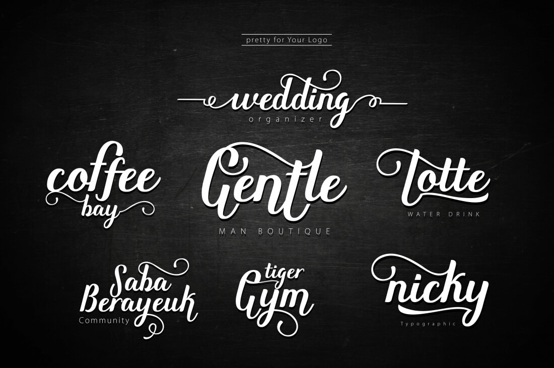 8 fresh script fonts from rabbittype only 12 mightydeals bookmarktalkfo Choice Image