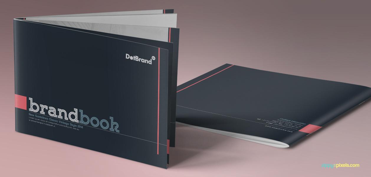 book template design
