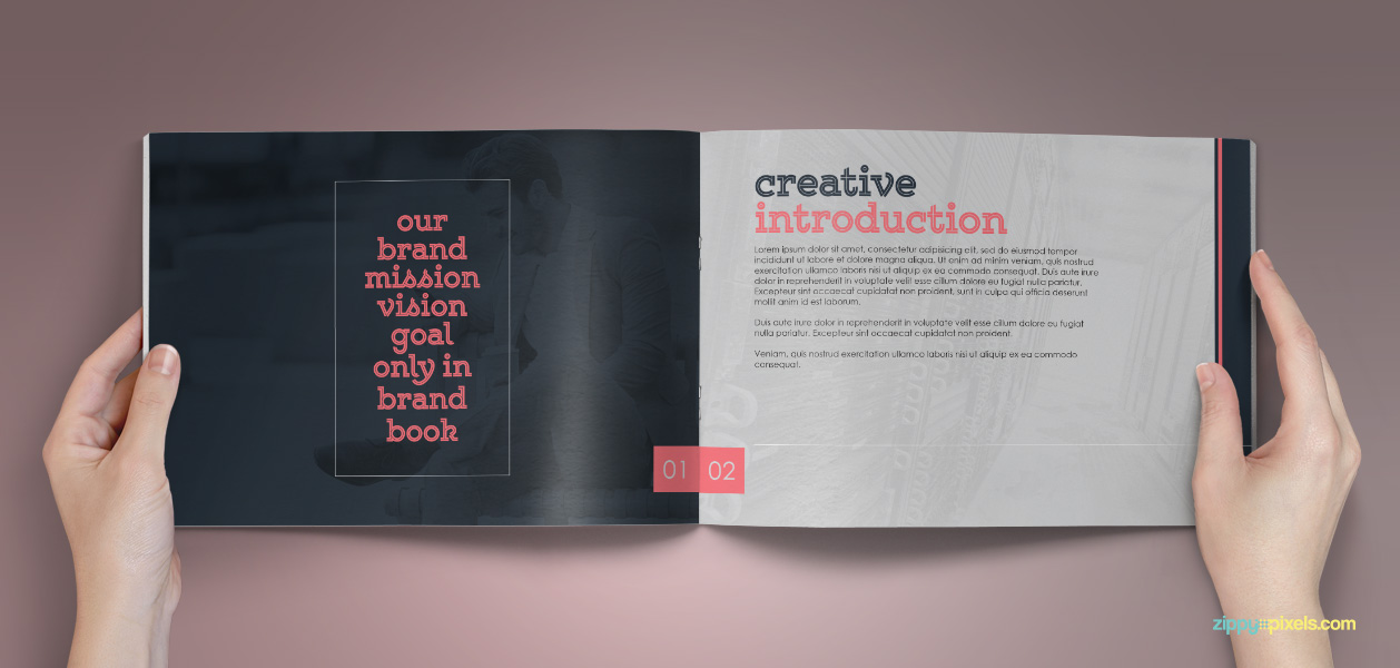 bundle of 10 brand book templates from zippypixels for 84.html