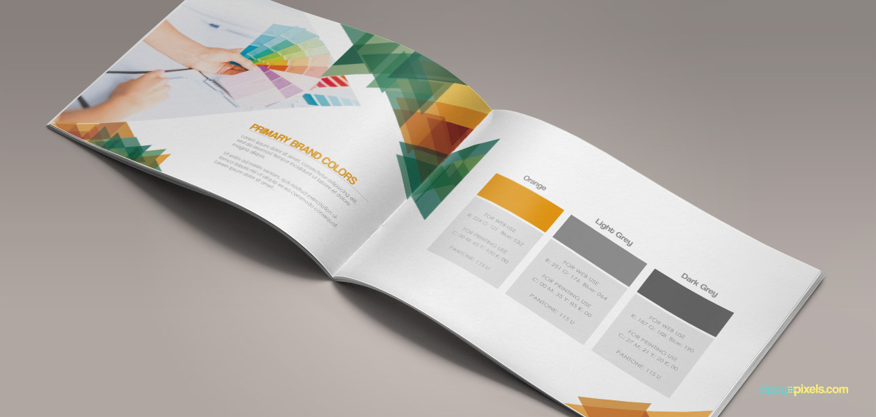 Bundle of 20 Brand Book Templates from ZippyPixels - only $17 ...