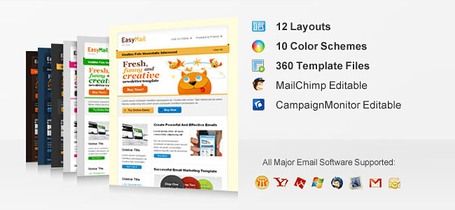Professional Email Templates From ChocoTemplates Only - Campaign monitor html templates
