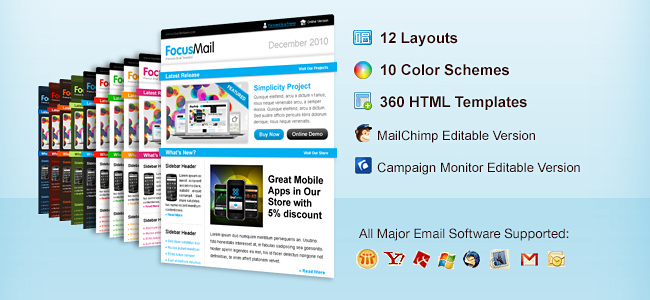 11 Professional Email Templates from ChocoTemplates only 12 – Professional Email Template