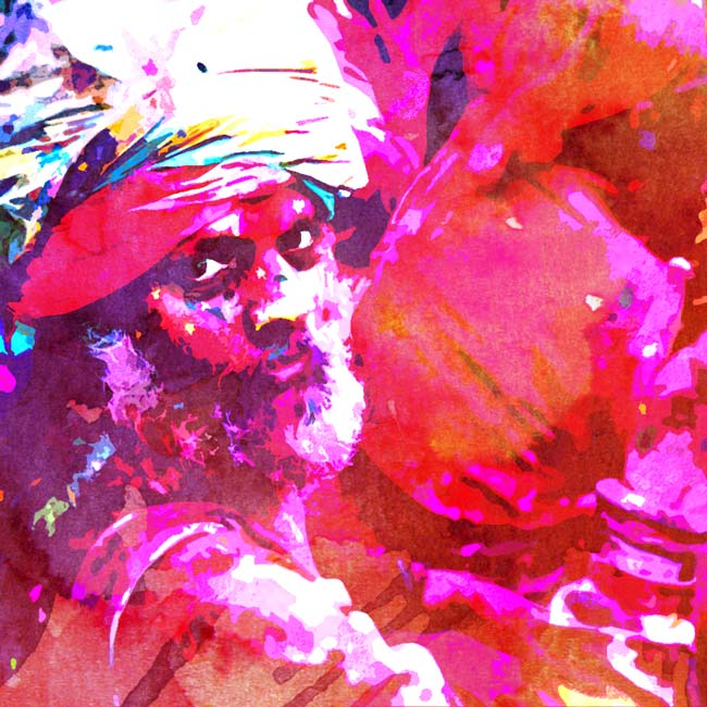 4 Photoshop Actions to Convert Photos to Painted Art - only