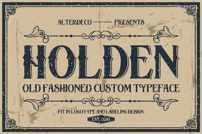 Holden Font