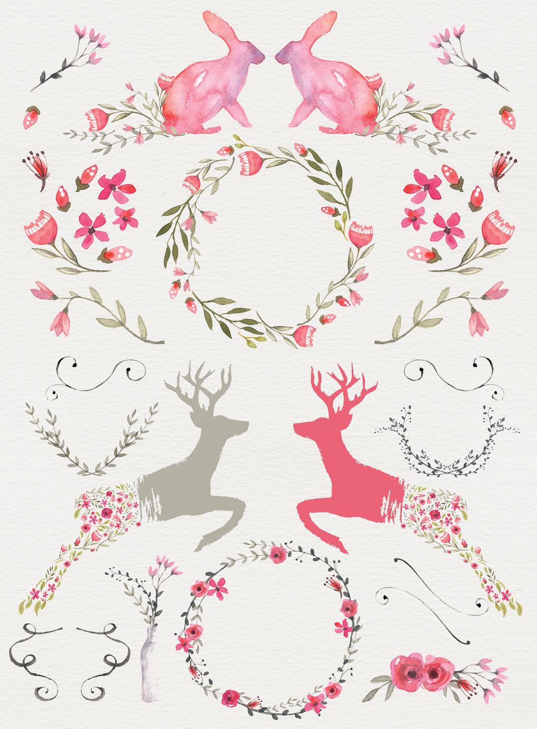 LAST DAY: 195 Breathtaking Watercolor & Vintage Floral ...