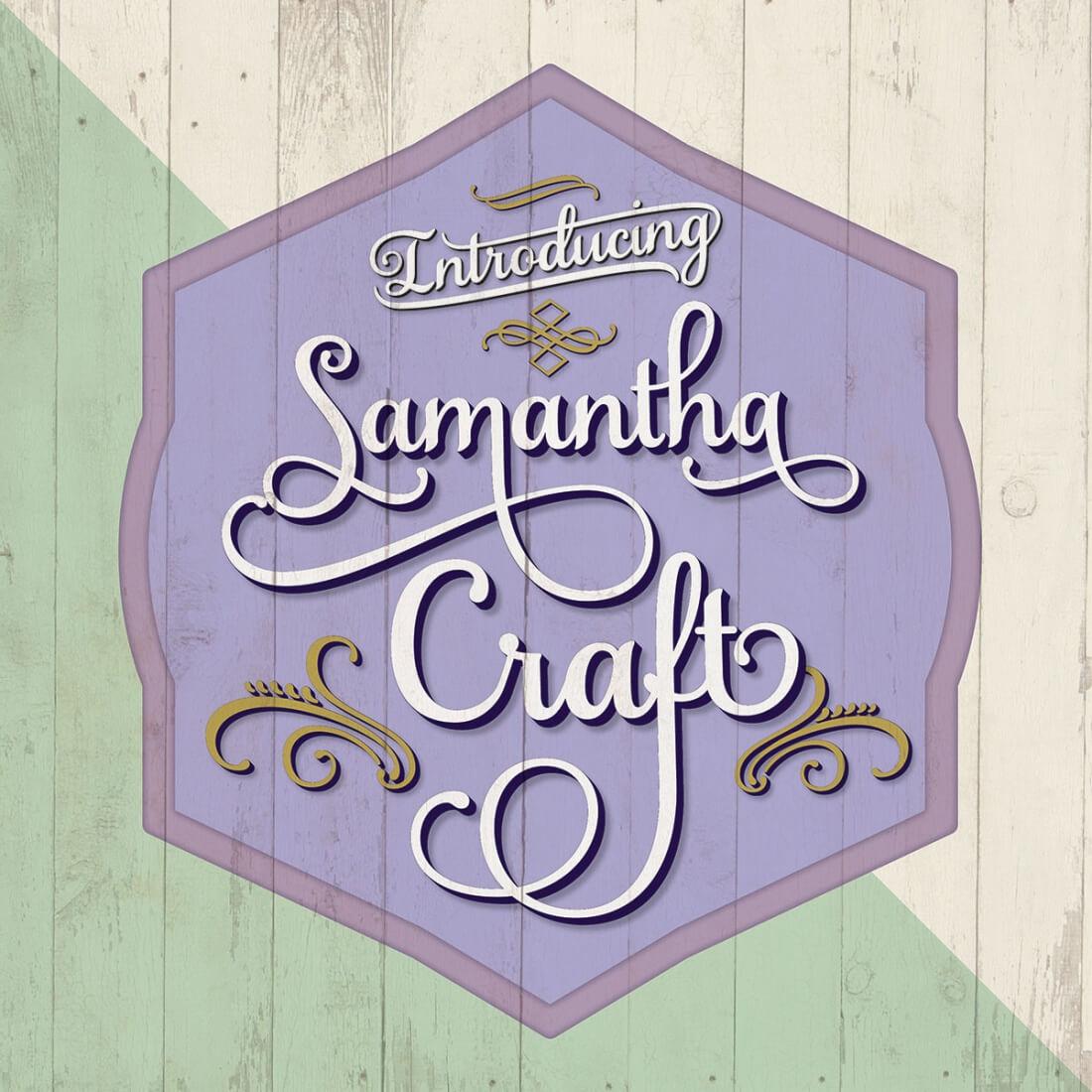 Samantha Craft + Exclusive Samantha Frames