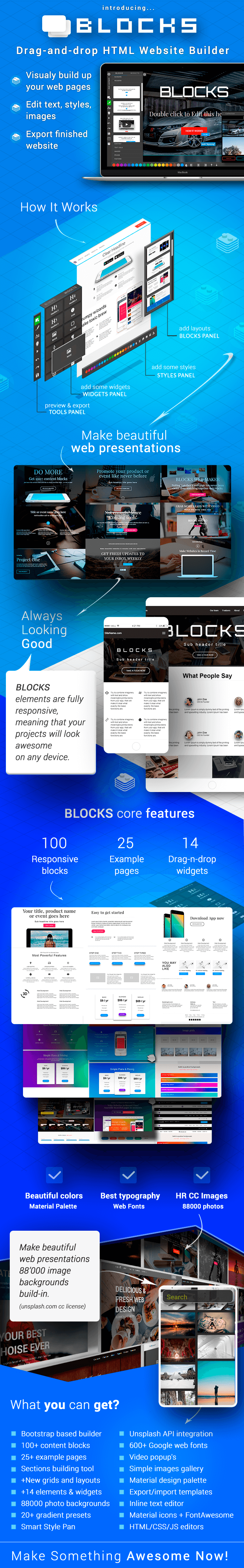 last chance  the amazing blocks 3 2 - easily create professional website templates