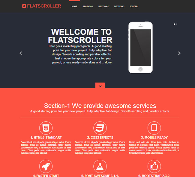 Boostrap Template | 10 Premium Responsive Bootstrap Templates Only 10 Mightydeals