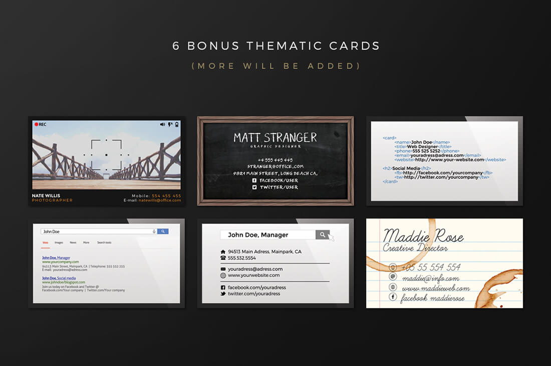 Robust Business Card Creation Kit from Graphicdome - only $9 ...