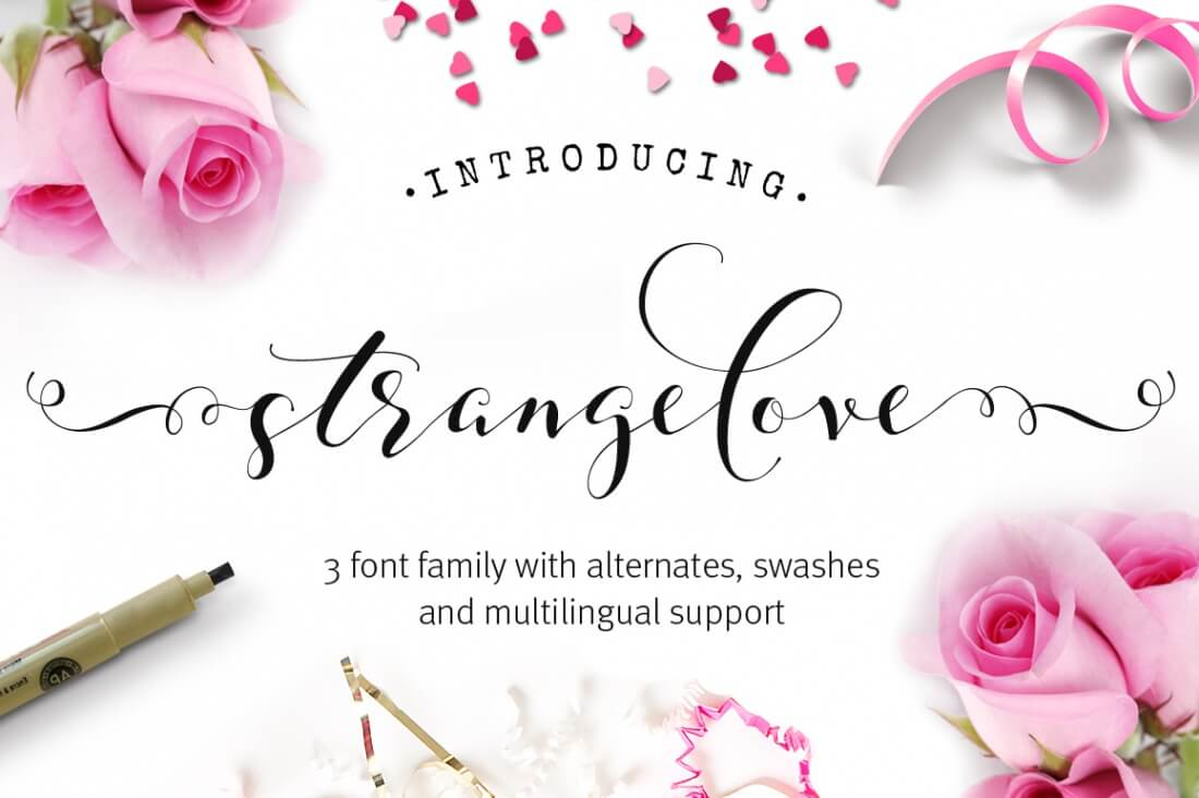 Last day colossal font bundle 30 fonts with extended licenses all work beautifully on physical products such as mugs t shirts logos greeting cards and more kristyandbryce Choice Image