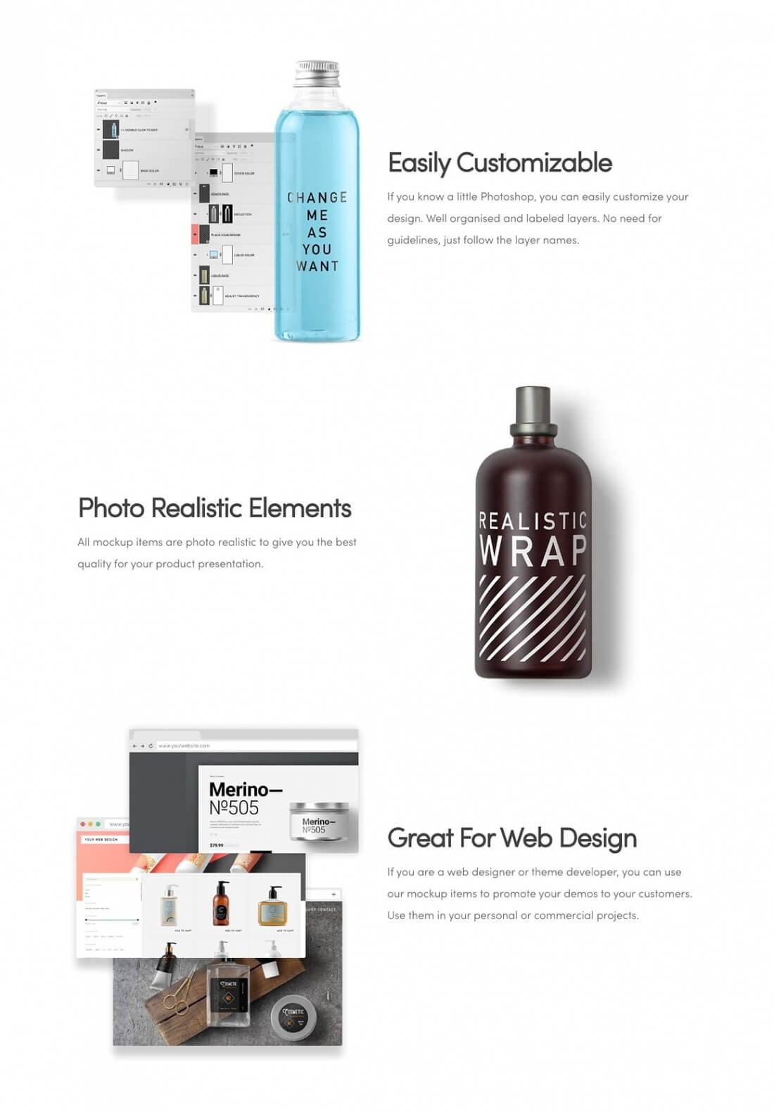 LAST CHANCE: 350+ Cosmetic Packaging & Branding Mockup