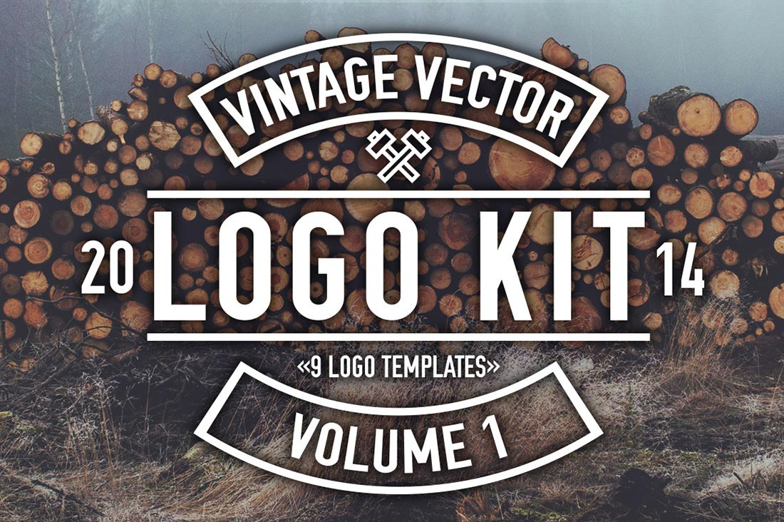 Vintage Logo Kit