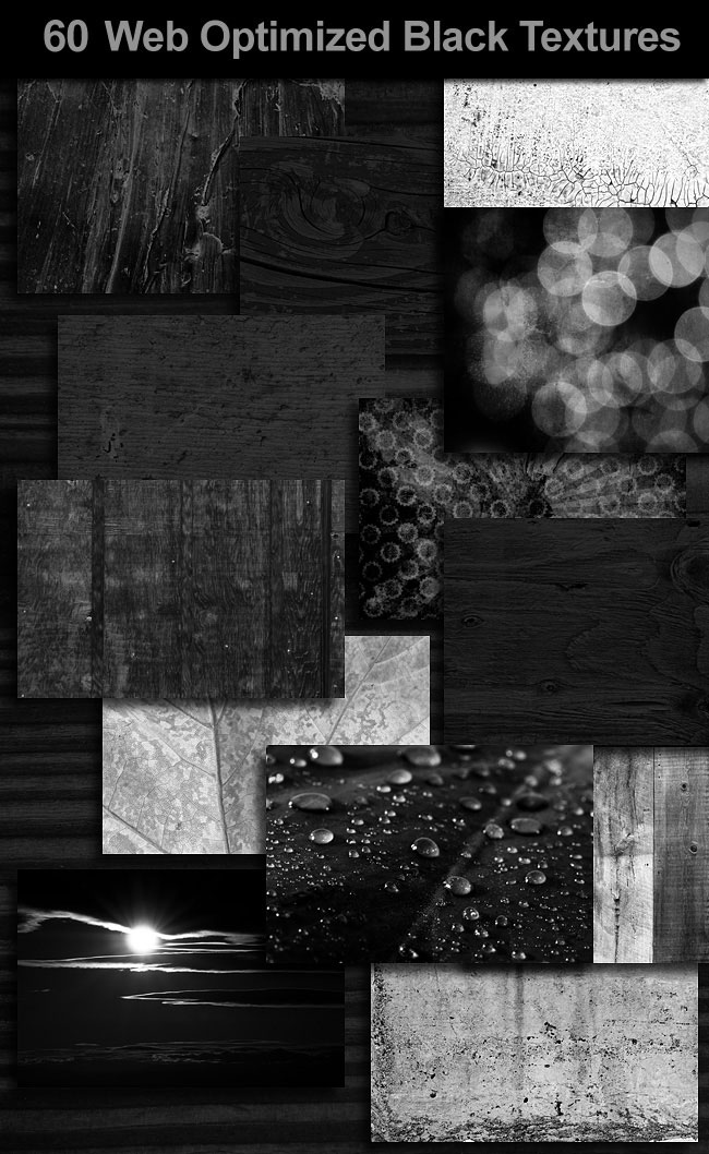 Black Web Textures
