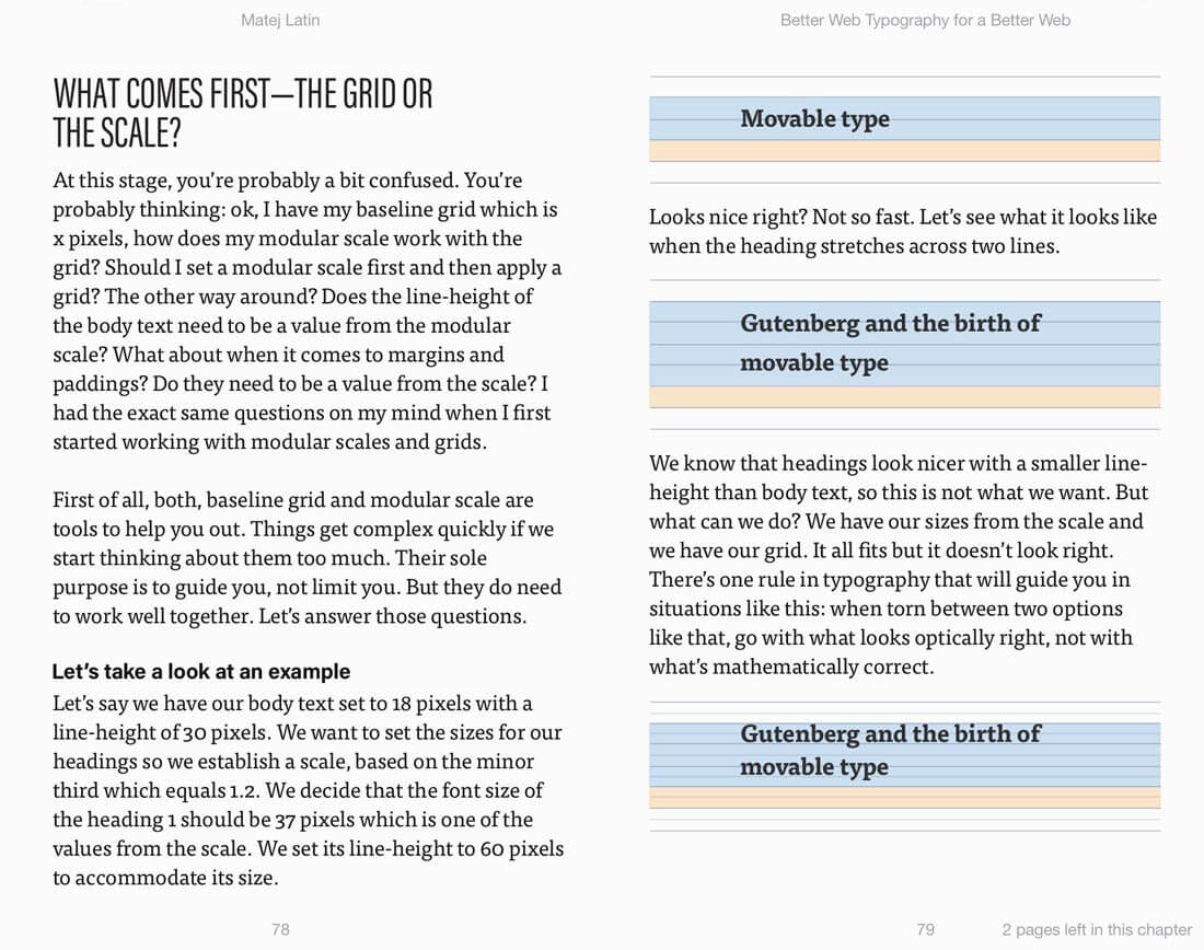 Ebook better web typography for a better web only 13 mightydeals sample pages fandeluxe Image collections