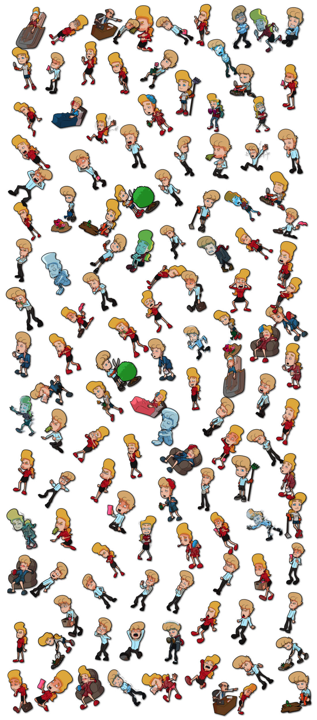 EXCLUSIVE! 1500+ Vector Character Illustrations from ...