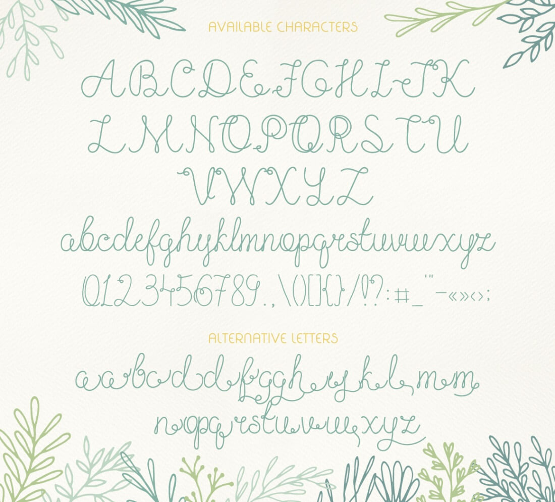 Exclusive freebie olesia romantic script font mightydeals