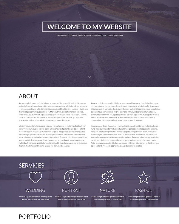 21 premium responsive one page html5 templates only 19