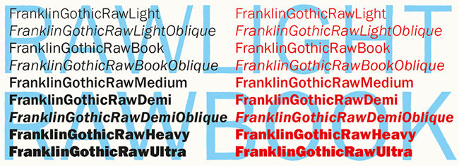 Franklin Gothic Sketch Font - only $12! - MightyDeals