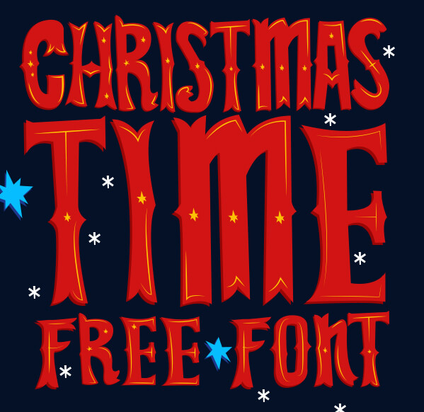 Christmas Images Free For Commercial Use.Free Download Christmas Time Font Mightydeals