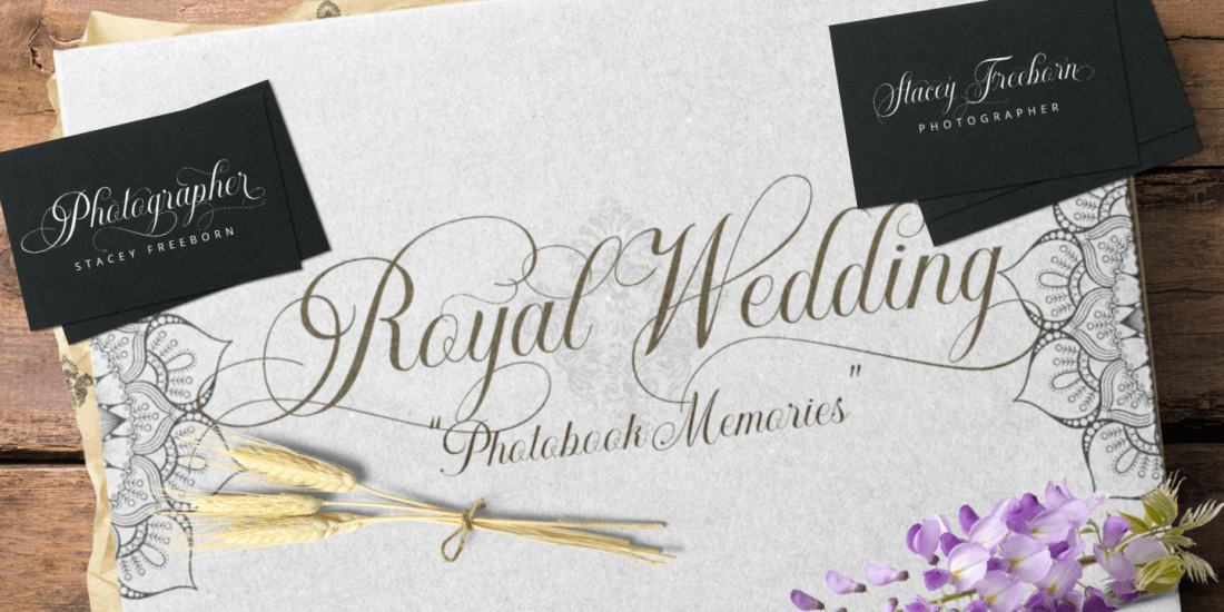 Gorgeous Luxury Khatija Calligraphy Script Font - only $7! - MightyDeals