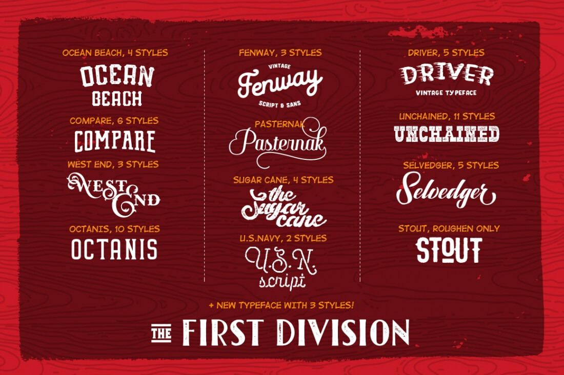 LAST DAY: Hot Autumn Stuff Collection of 50+ Fonts & 300 Graphic