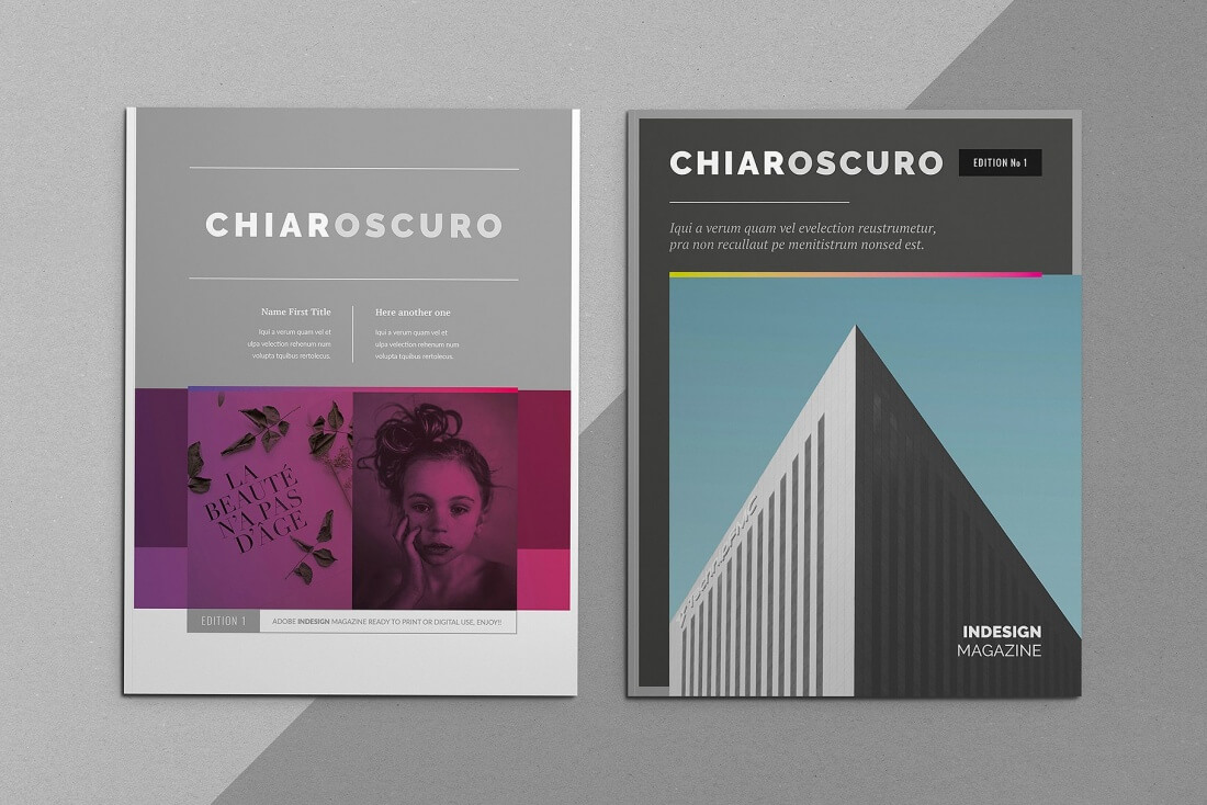 LAST CHANCE: 25+ InDesign Magazine & Brochure Templates