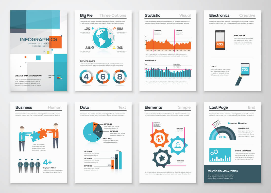 11 Infographic Design Trends 2018: Make Data Look Hot ... |2014 Graphic Design Infographics