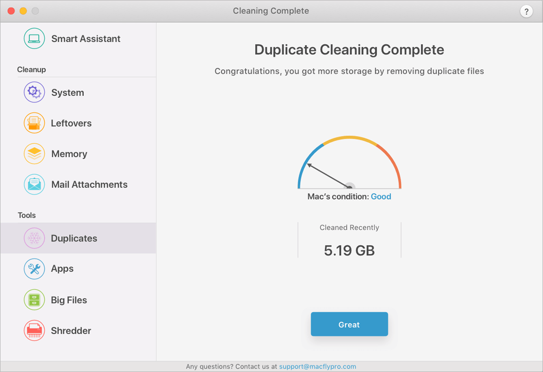 MacFly Pro Quickly and Easily Cleans Up Your Mac - only $17