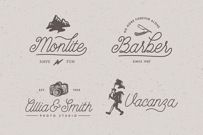 EXCLUSIVE Script Font Bundle: 10 Gorgeous Fonts - only $27 ...