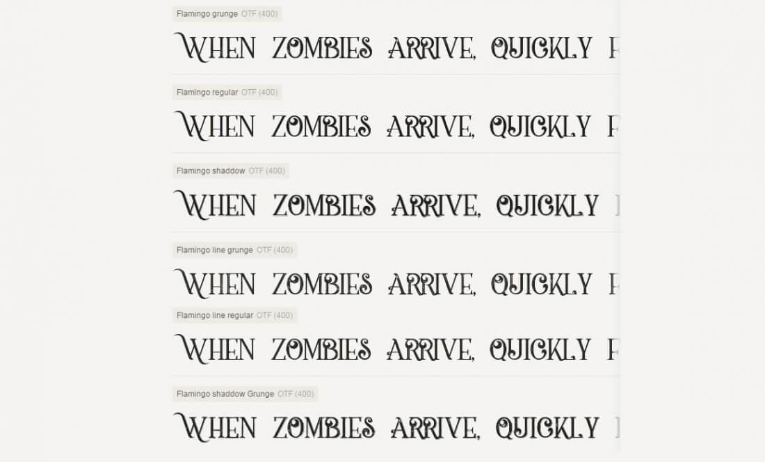 Mega Font Bundle of 32 Vintage, Grunge Font Families - only