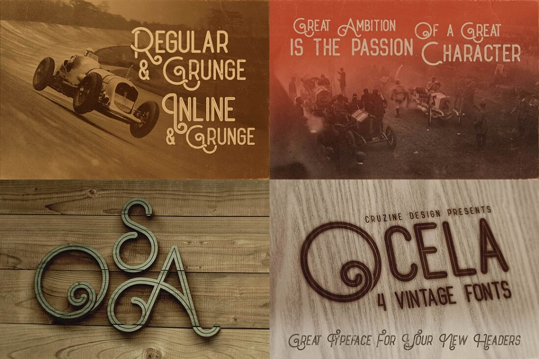 Mega Font Bundle Of 32 Vintage Grunge Families Only 29 Circuit Board Graphic Design Stock Photos Take A Look At The Included In Your Deal