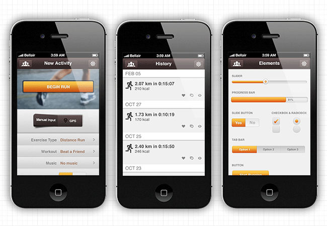 high quality iphone app template bundle 92 off mightydeals