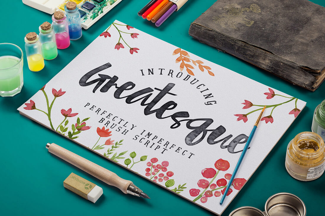 Perfectly Imperfect Greatesque Script Font