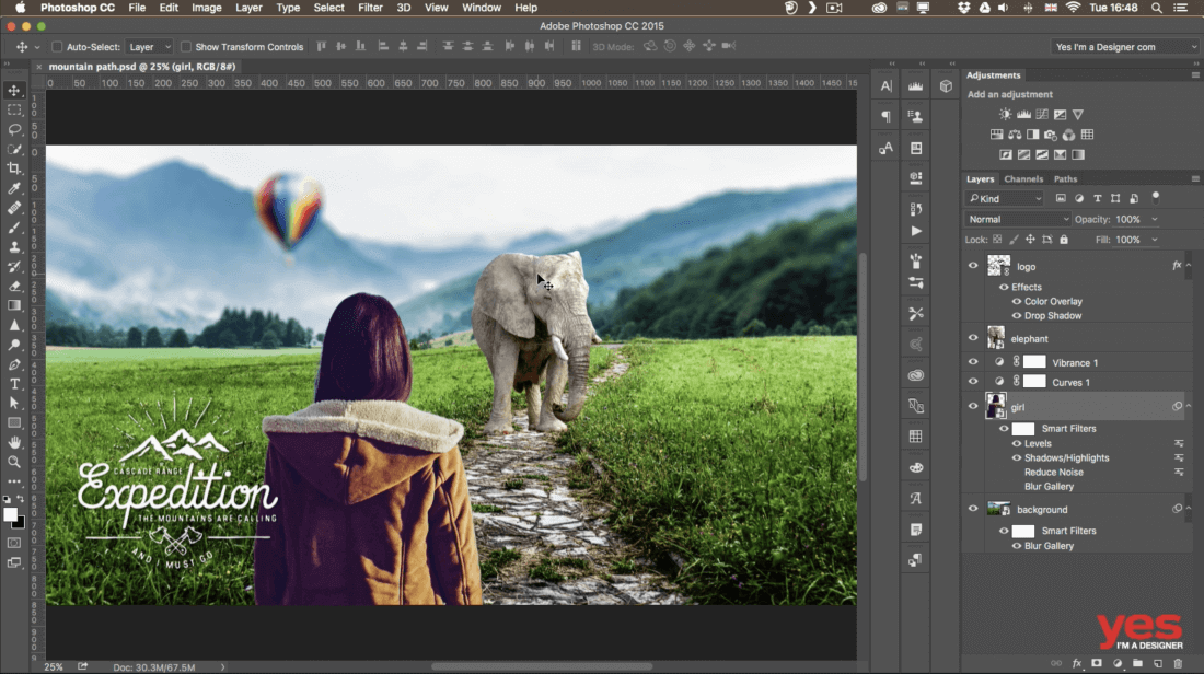 Learn everything you need to know with the Photoshop CC 2018