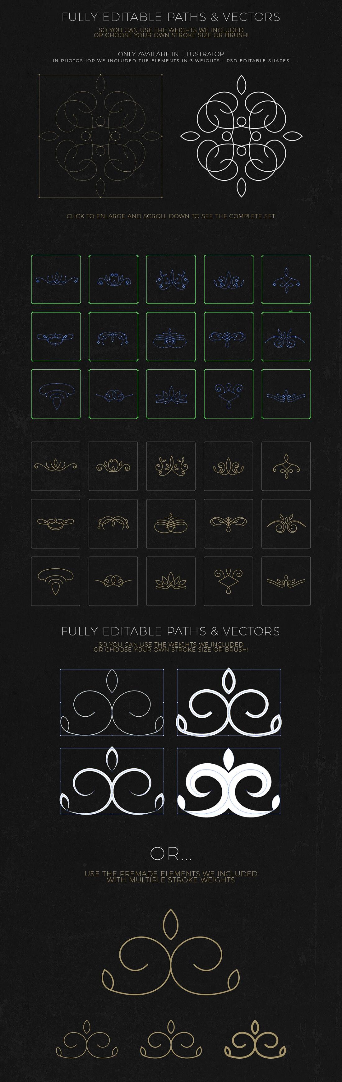 Professional logo creation kit bundle with 500 elements only professional logo creation kit bundle with 500 elements only 14 mightydeals sciox Choice Image