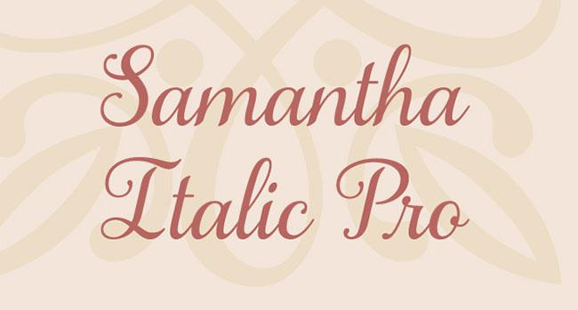 Samantha Italic
