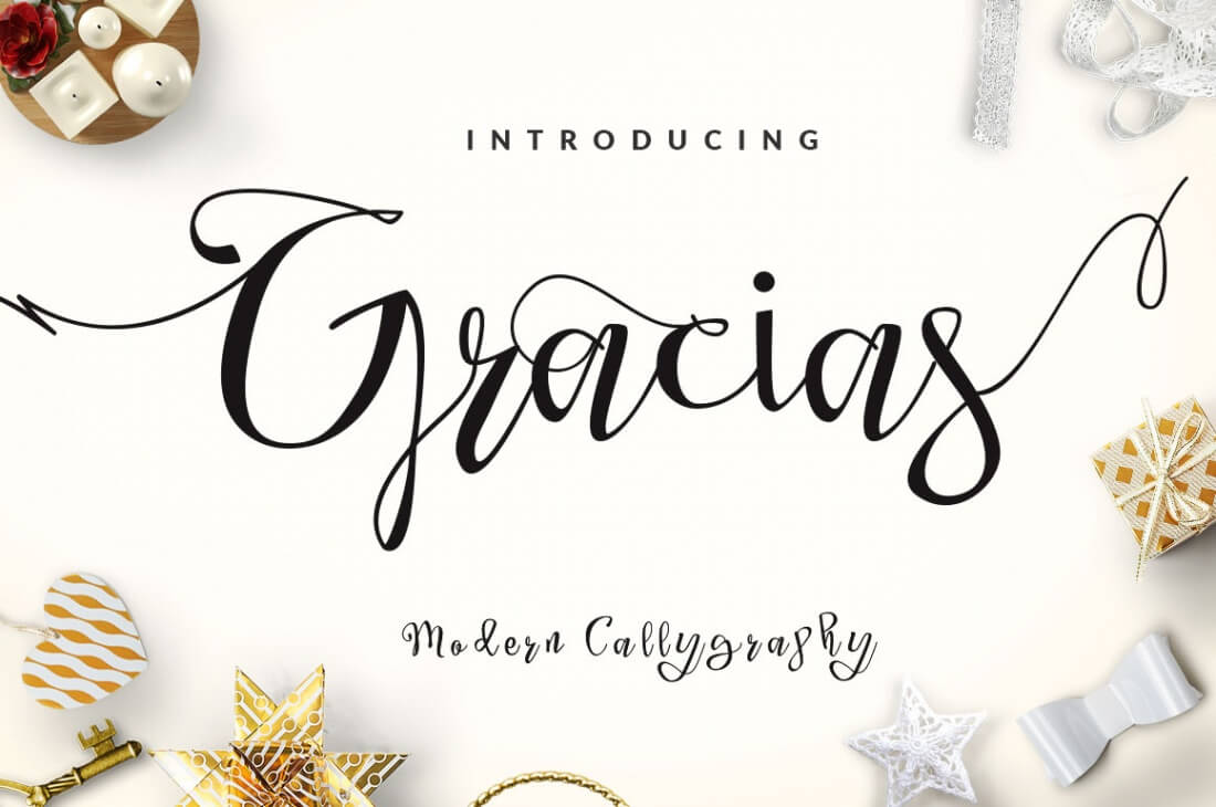 Classic Calligraphy Mixes With A Modern Style To Bring You 384 Different Glyphs In This Beautiful Font
